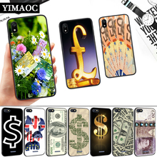 Dollar GBP euros Silicone Soft Case for Redmi 4A 4X 5 Plus 5A 6 Pro 6A 7 7A S2 Go K20 Note Prime 8