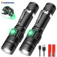 12000LM super jasne led latarka latarka led T6/L2/V6 DE Zoomable rower do jazdy na świeżym powietrzu światło USB akumulator