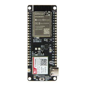 Image 2 - TTGO T Call V1.3 ESP32 وحدة اتصالات لاسلكية FPC هوائي بطاقة SIM SIM800L واي فاي بلوتوث