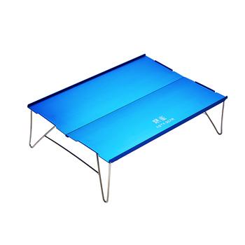 ASTA biegów na zewnątrz mini składany stół aluminiowy składany piknik stół kempingowy przenośny a łatwa do przechowywania ultra światła na zewnątrz tanie i dobre opinie ASTAGEAR