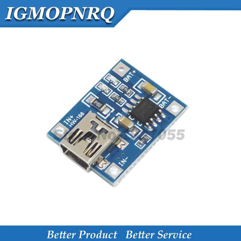 5pcs TP4056-1A Lithium Battery Charger Module Board 5v USB 1A li-ion Battery charger TP4056 new