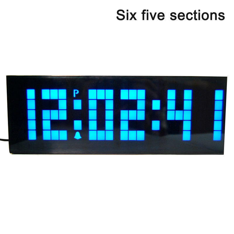 Digital LED Wall Clock Multifunction Desktop Alarm Clock with Calendar Countdown  E2S 1