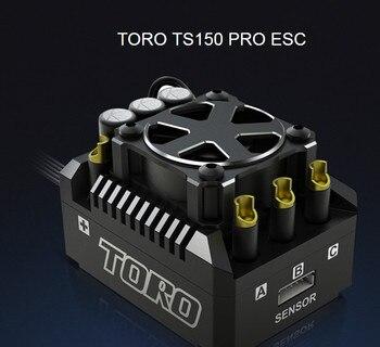 SKYRC de aluminio de TORO TS150 Pro pecado escobillas Sensored ESC para 1/8 RC coche