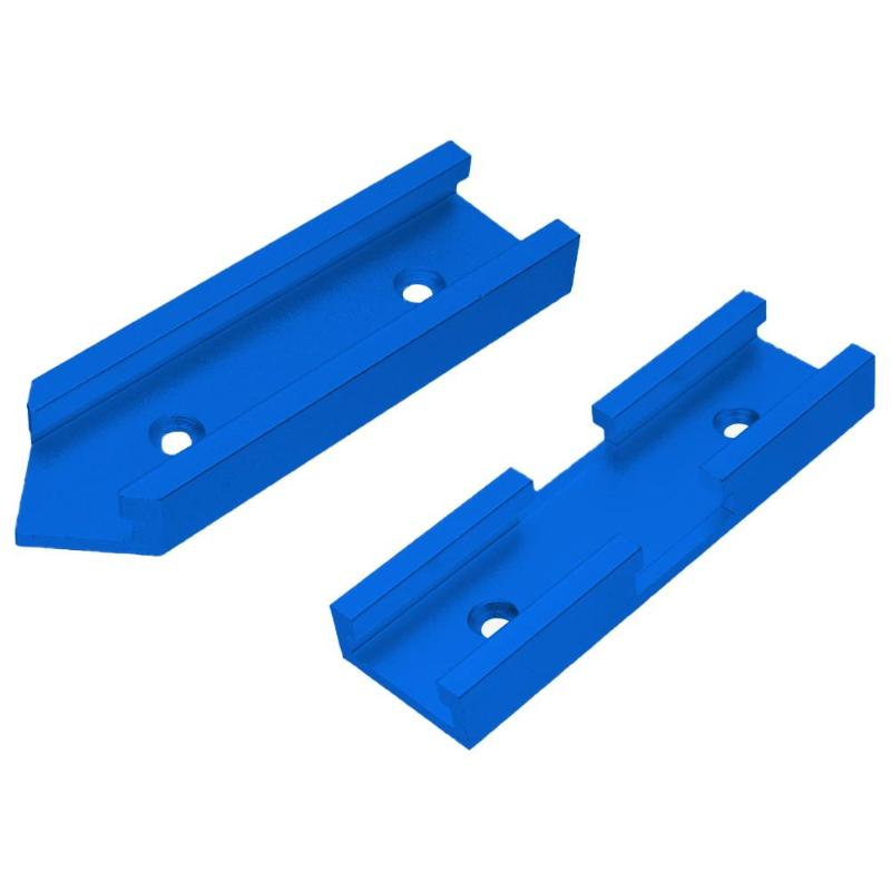 Aluminium Alloy Slot Miter Track Miter Bar Slider T-tracks Table Saw Cross Connector Durable Connector Gauge Rod 100X30X13mm