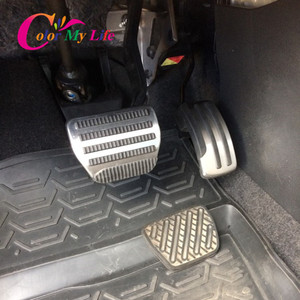 Image 2 - Car Pedals for Nissan X trail T31 Qashqai J10 Car Stainless Steel AT MT Pedal Cover for Nissan X trail 2010 2013 Qashqai 2012 15