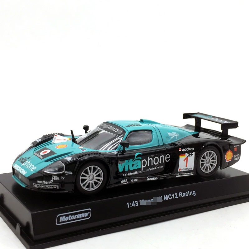 1/43 Scale Car Model Toys NO.1 MC12 Racing Car Diecast Metal Car Model Toy For Collection,Gift,Kids,Decoration