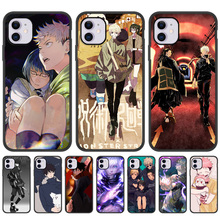 Anime Jujutsu Kaisen Phone Case For iPhone 11 12 Pro Max XR X XS 6 6S 7 8 Plus 5 5S SE 1 2 Soft Silicone Funda For iPhone XR