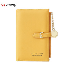 Leather Luruxy Clutch Wallets Women Many Departments Coin Pocket Purses Zipper Designer Ladies Money Bag Chain Mini Wallet