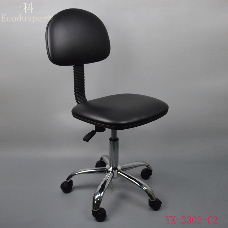 Factory Direct Selling Anti-static Leather Chair, China Industrial Chair Stool Clean Room Anti-static Height Adjustable Chair