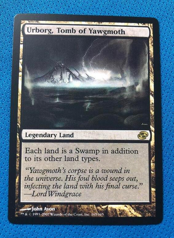 Urborg, Tomb Of Yawgmoth	PLC Magician ProxyKing 8.0 VIP The Proxy Cards To Gathering Every Single Mg Card.
