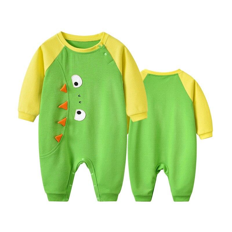 2019 г. Кролик Толо, Осенняя детская одежда, новый стиль, от 0 до 3 лет, для мужчин и женщин, комбинезон с длинными рукавами с изображением малень...