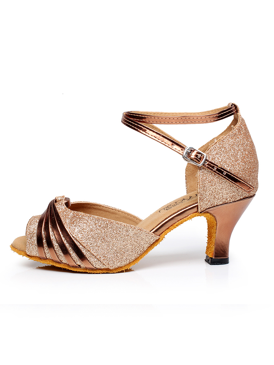 Tango Ballroom Urban Ballroom Latin Dancing Shoe For Women 2020 Ladies Pole Discounts Sale 7.5cm Summer Slip On Tap Girls Sandal