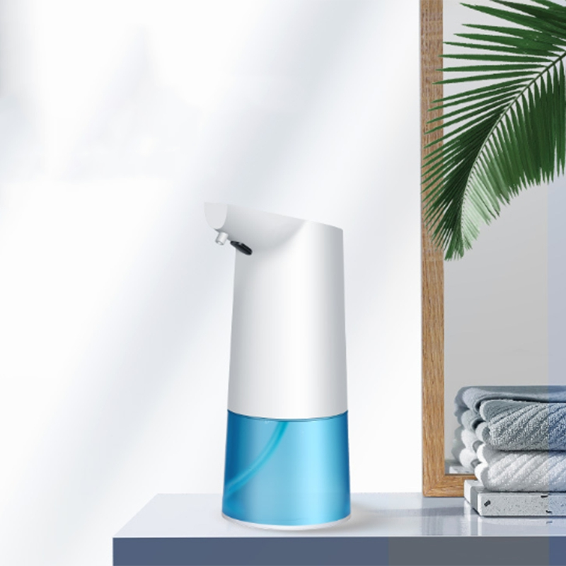 350Ml Infrared Sensing Automatic Portable Foam Soap Dispenser For Bathroom Kitchen Balcony No Noise Low Power Dispenser