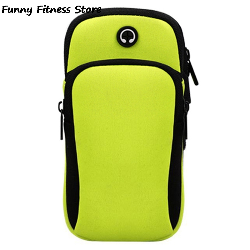 Responsible Fitness Workout Armband Bag Running Jogging Gym Arm Band Mobile Phone Bags Waterproof Sleeve Holder Pouch Simple Package Mini Lustrous