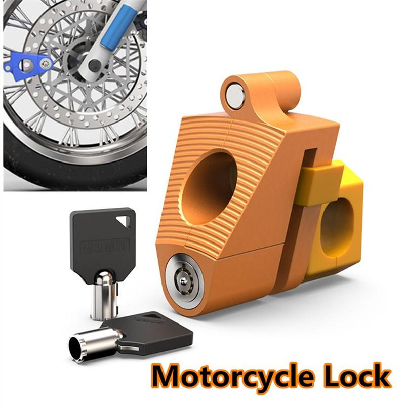 Motorcycle Lock Anti-theft Lock Disc Brake Lock Electric Scooter Lock Mountain Bike Anti-theft Lock