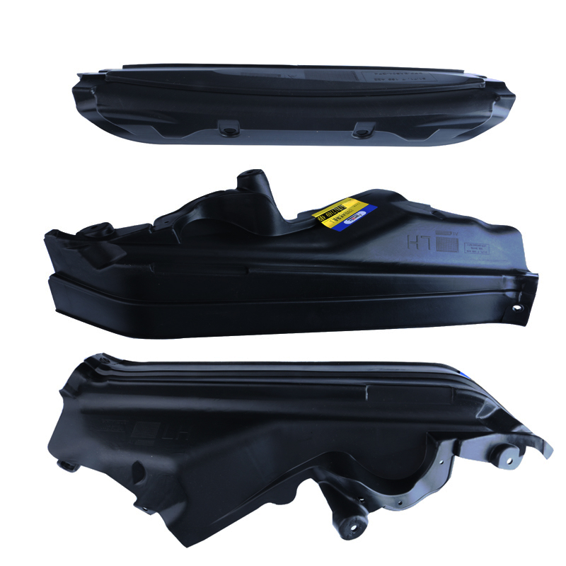 3 Pcs Lot Black Car Engine Upper Compartment Partition Panel Set 51717169419 51717169420 51717169421 For BMW X5 X6 E70 E71 E72