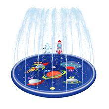 Mat Kids Children Splash-Mat Pad Sprinkler Summer-Accessory Party PVC Colorful Durable