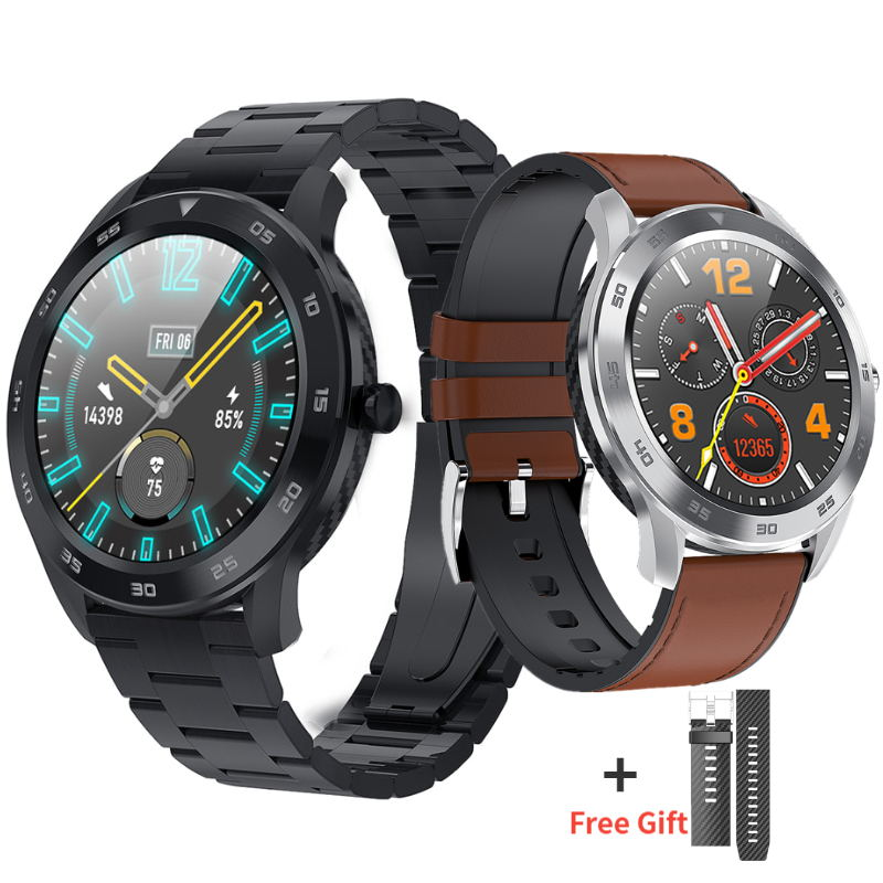Bluetooth Anruf DT98 Smart Uhr Männer 1,3 Volle Runde HD touchscreen <font><b>IP68</b></font> Waterproo <font><b>Smartwatch</b></font> für xiaomi huawei honor telefon GT image
