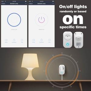 Image 4 - WIFI חכם ברזיל תקע עם כוח צג BR חכם שקע שקע אלחוטי קול שליטה לעבוד עם Alexa Google בית