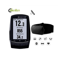 Bicycle Computer Wireless GPS Speedometer Heart Rate Waterproof Road Bike MTB Bluetooth 4.0 answer phone Candence Cycle Computer