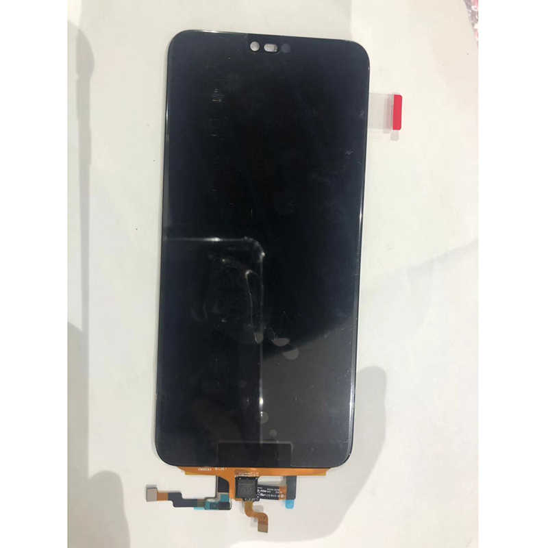 Originalลายนิ้วมือสำหรับHuawei Honor 10 จอแสดงผลLCD Touch Screen Digitizer AssemblyสำหรับHonor 10 อะไหล่เปลี่ยน