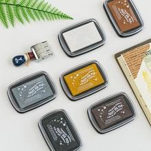 Rubber-Stamp Decorative Inkpad-Seal-Partner Hand-Account Printin Graffiti Metal DIY Available