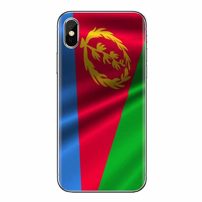 For Oneplus 3T 5T 6T Nokia 2 3 5 6 8 9 230 3310 2.1 3.1 5.1 7 Plus 2017 2018 Silicone Skin Case Eritrea Flag world flying Banner