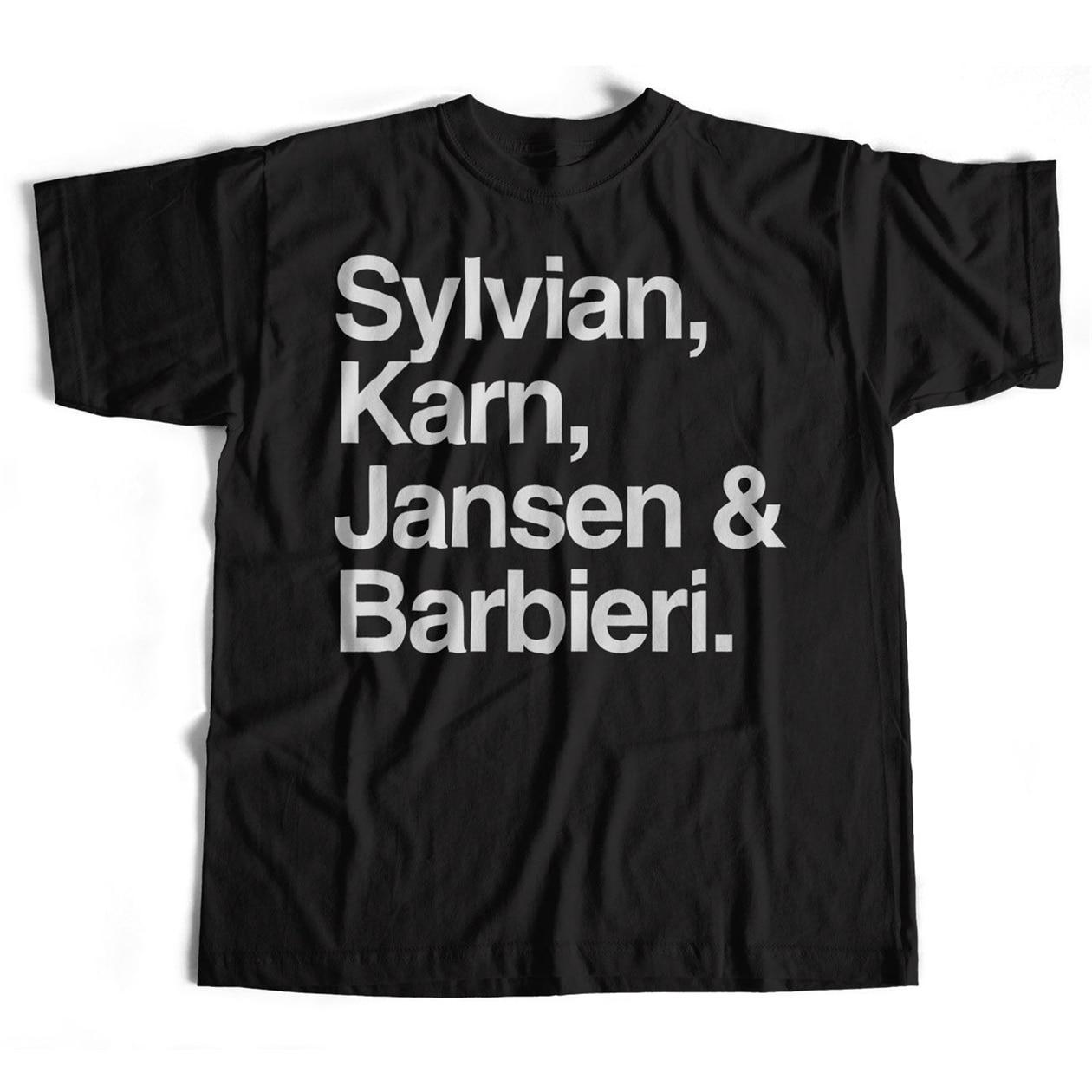Japan Names Tops Tee T Shirt An Old Skool Hooligans Rock Names David Sylvian T-Shirt Vintage Graphic