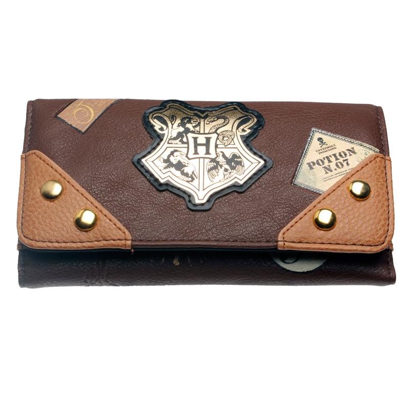 Hogwarts Wallet Female Purse Lady Purses Phone Pocket Card Holder DFT1965