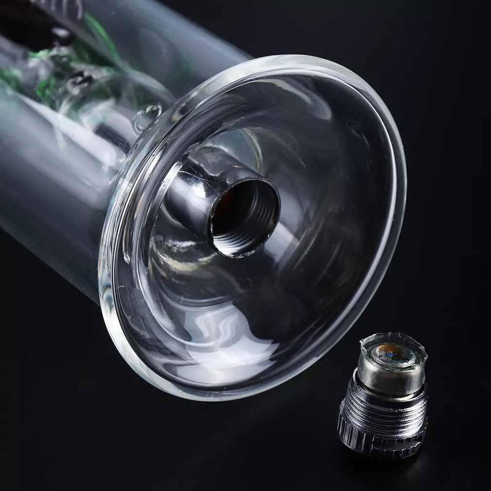 Accessoires de tuyau de narguilé en verre de trois LED couleur changement de couleur mode Cool hommes accessoires de narguilé