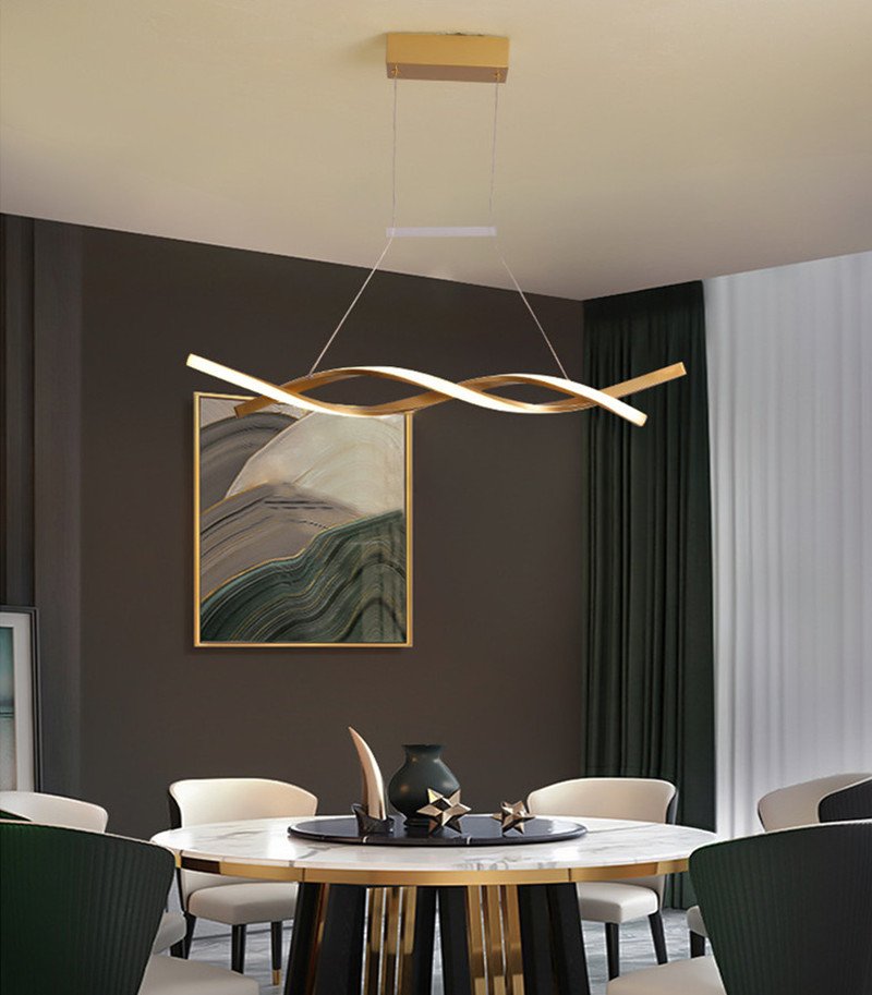 Gold Modern LED Lights Chandeliers - Ceiling Light Fixtures