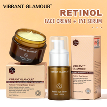 Facial-Skin-Care-Set Face-Eye-Serum Whitening Moisturing Retinol VIBRANT GLAMOUR 2-Suit