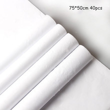 40pcs Waterproof Sydney Paper Lined Flower Wrapped Gift Shop Packaging Material Christmas