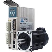 Сервомотор и привод переменного тока с кабелем 3 м, 750 Вт, 3000 кВт, 220 об/мин, 2500 нм, 80 мм, в, в