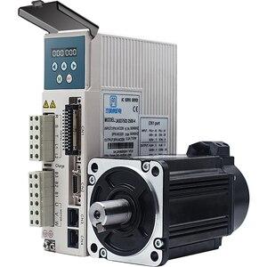 Image 1 - 750w 0.75kw 3000rpm 2.39NM 80 millimetri 220V AC Servo Motor & drive kit con 3m di cavo 2500 linea JMC 80JASM07230K 2500 + JASD7502 2500