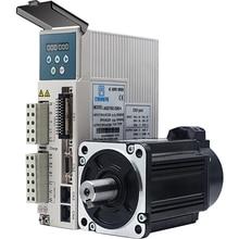 750w 0.75kw 3000rpm 2.39NM 80mm 220V AC Servo Motor&drive kit with 3m cable 2500line JMC 80JASM07230K 2500+JASD7502 2500