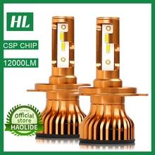 /HL Mini H4 H7 LED H11 Car Headlight 12000LM 6000K Auto Lamp H1 9005 HB3 9006 HB4 H8 H11 Fog Light Bulbs lampada Car Accessories