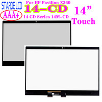 14'' Touch Digitizer For HP Pavilion X360 14 CD 14 CD Series 14M CD Laptops Touch Screen Replacemnt Panel