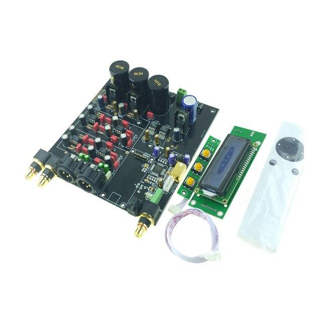 ES9038 ES9038PRO DAC מפענח התאסף לוח דיגיטלי לאנלוגי אודיו ממיר אפשרות USB XMOS XU208 או Amanero עבור HIFI אודיו