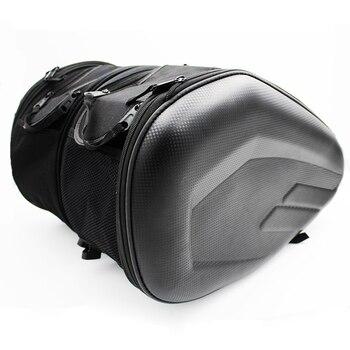 Акция, сумка-Седло для мотоцикла, сумка-седло, чемодан, сумка для заднего сиденья мотоцикла, сумка-седло с водонепроницаемым чехлом SA212