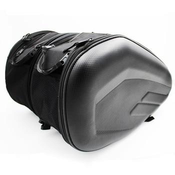 Promotion deal Motorcycle Saddle bag Saddlebags luggage Suitcase Motorbike Rear Seat Bag Saddle Bag with Waterproof Cover SA212
