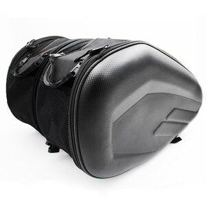 Image 1 - プロモーション契約オートバイサドルバッグサドル荷物スーツケースバイクリアシートバッグサドルバッグ防水カバー SA212