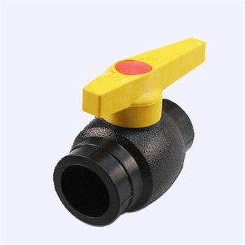 4 puntos 20PE de balón para Core válvula 25 caliente válvula de bola Pe Válvula de 32PE tubería de suministro de agua interruptor de la válvula de 40/50/63/90