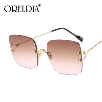 Gafas De Sol rectangulares pequeñas Vintage Para Mujer, lentes De Sol sin...