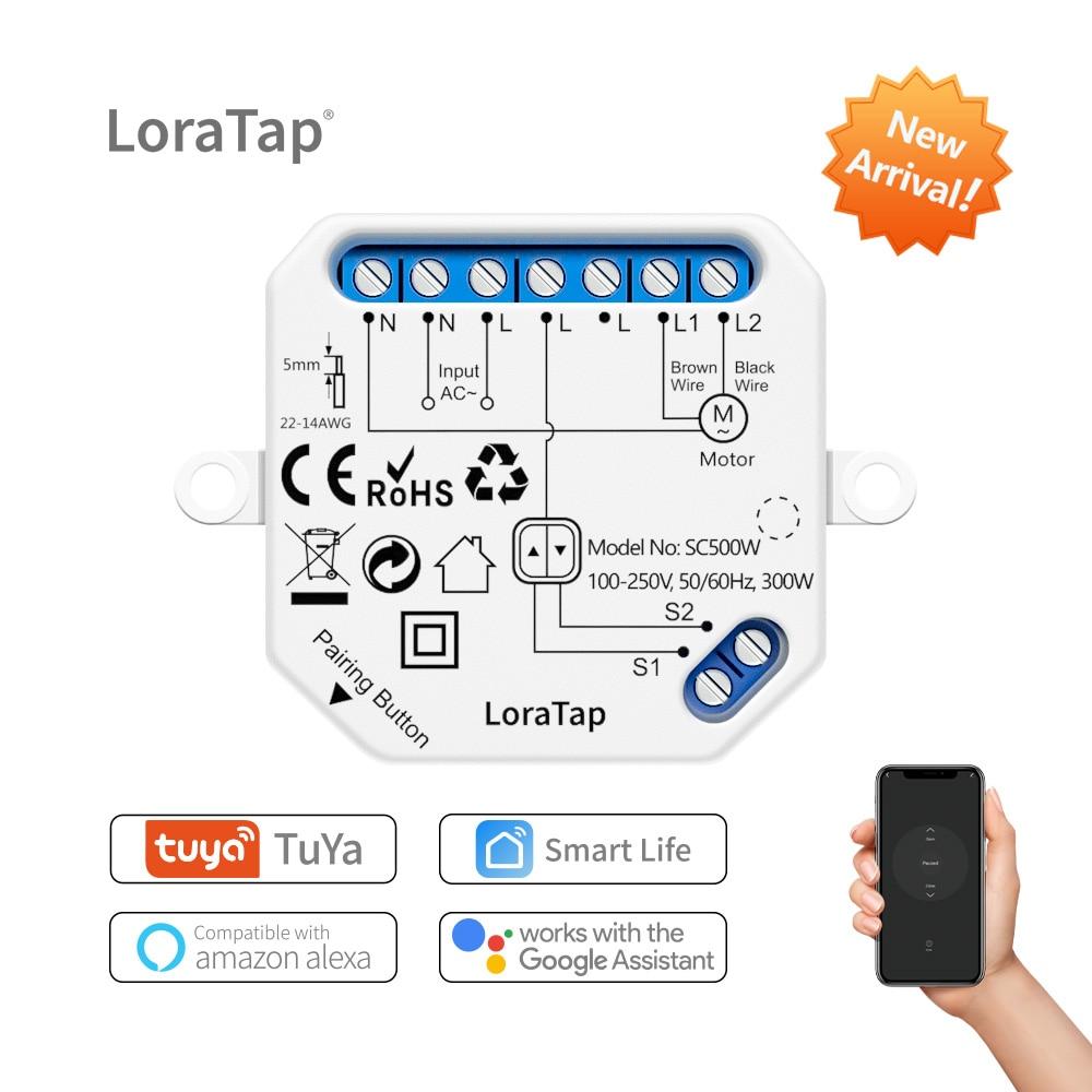Модуль переключателя для штор Tuya Smart Life, wi-fi переключатель для поворотного затвора, Поддержка Google Home, Alexa, голосовое управление, управление че...