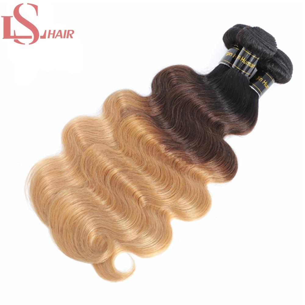 cabelo 3 4 pacotes com fechamento loira