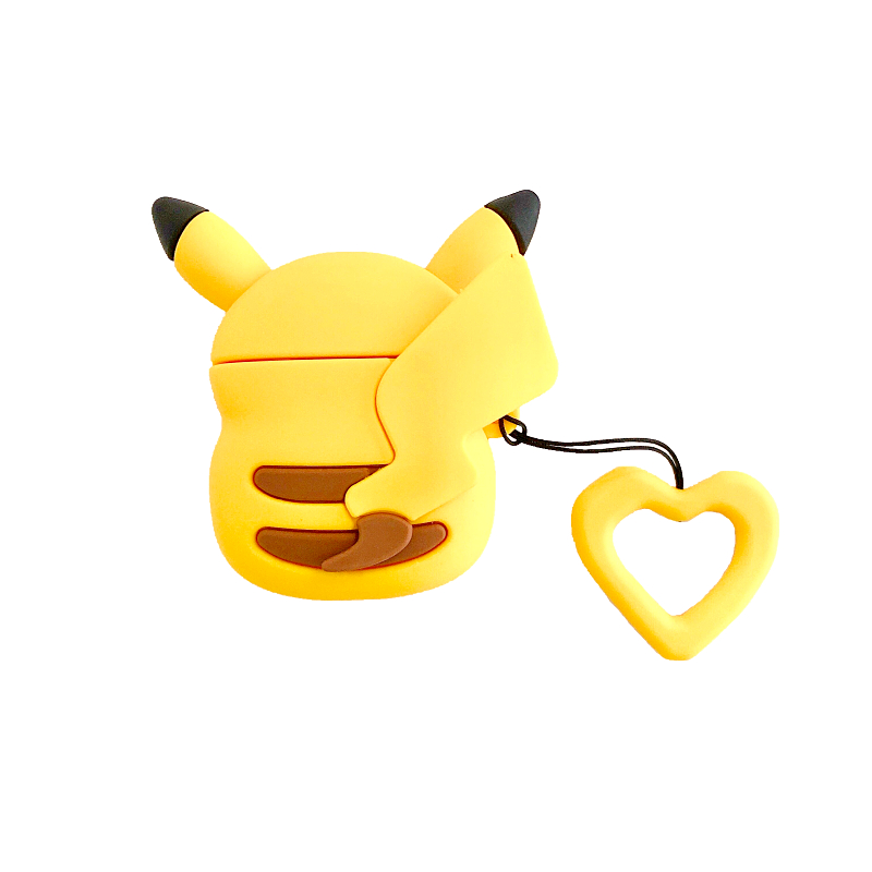 Image 5 - Air pods 2 Cartoon Pokemon Cute Pikachu Back view earphone Cover For Apple Bluetooth Headset Airpods 1 2 Silicone Cases Funda-in Earphone Accessories from Consumer Electronics