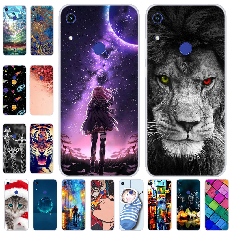 """For Huawei Y6S Case Cover Bumper On For Huawei Y6s 2020 TPU Soft Silicone Back Cover Case For Huawei Y6s 2019 6.09"""" Coque Fundas"""