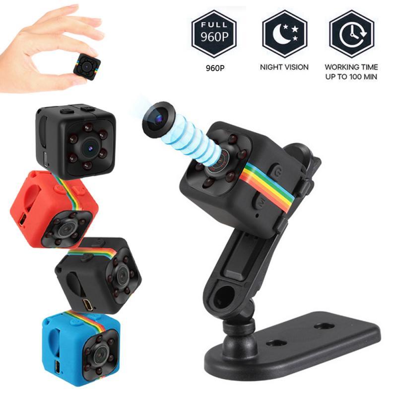 1pcs SQ11 Mini Camcorders Webcam 960P Web Camera Night Vision Car DVR Camera Wide Angle Web Cam Camcorders(China)
