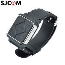 SJCAM เดิม 2.4G รีโมทคอนโทรลไร้สายสายรัดข้อมือนาฬิกาสำหรับ SJ9 SJ4000X SJ8 Pro Plus SJ7 SJ6 M20 Wifi กล้องถ่ายภาพกีฬา